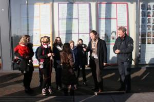 Opening kunstetalages Almere Buiten 17 jan 2015 (32)