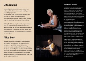 uitnodiging KunstEtalage 4 oktober 2014