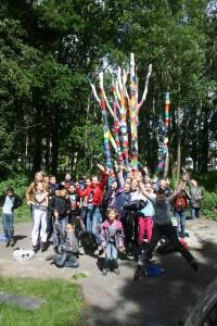 graaf regenboog boom beschilderen groep 8 de goede herder 3 juni 2015 (173)