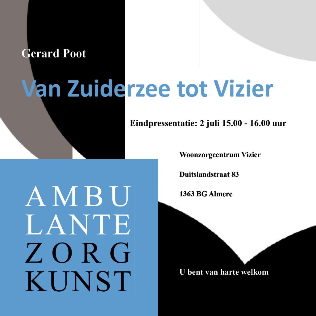 flyer Gerard Poot project 1 voorkant