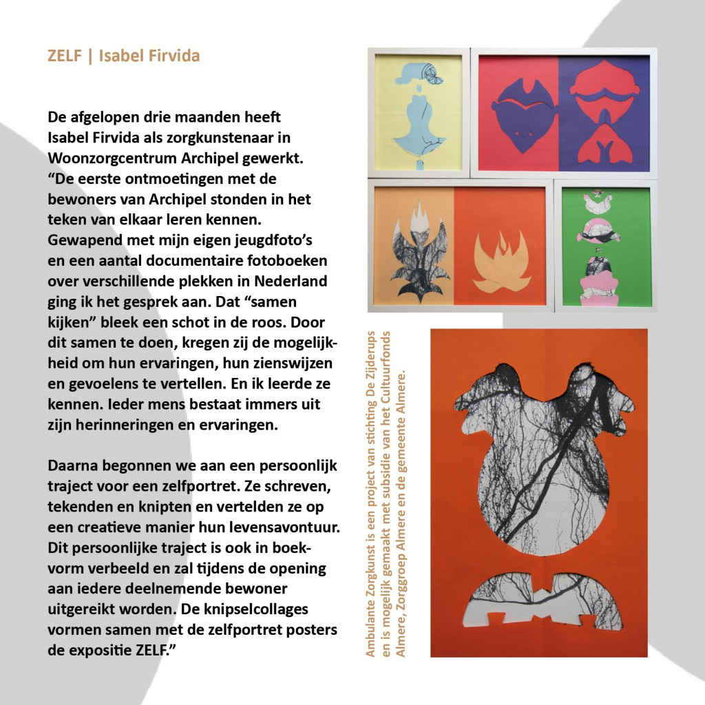 flyer isabel project 1 ZELF2